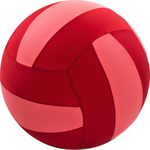 "22"" BRIGHTS Volleyball - Red/Light Pink"