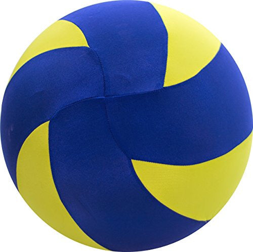 "8"" BRIGHTS Volleyball - Blue/Yellow"