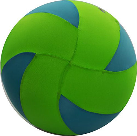 "32"" BRIGHTS Volleyball - Green/Light Blue"