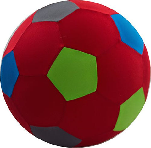 "14"" BRIGHTS Beach Ball - Red/Multi Color"