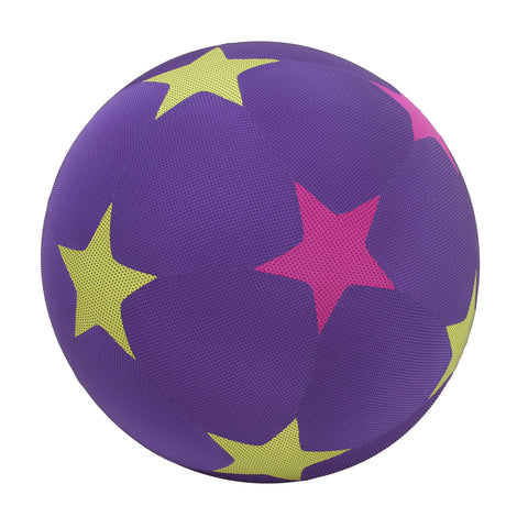 Large Purple Y'all Fit Fitness Ball