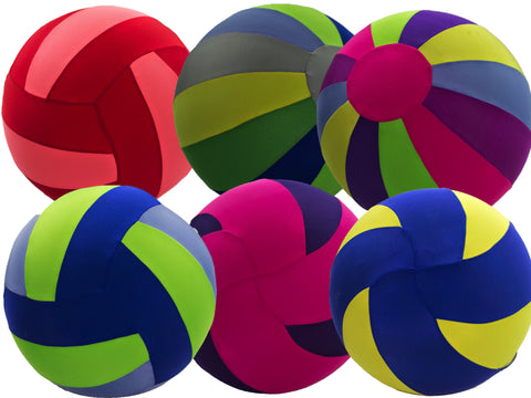 6 Pack Mini Bouncy Ball Assortment