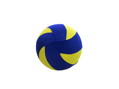 "4"" Blue/Yellow Mini Bouncy Ball"