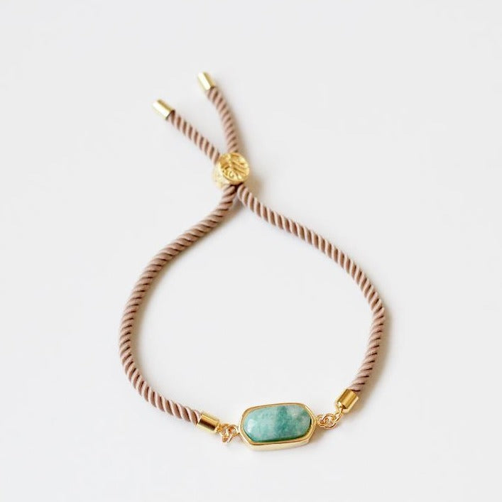 Lola Stacker Amazonite