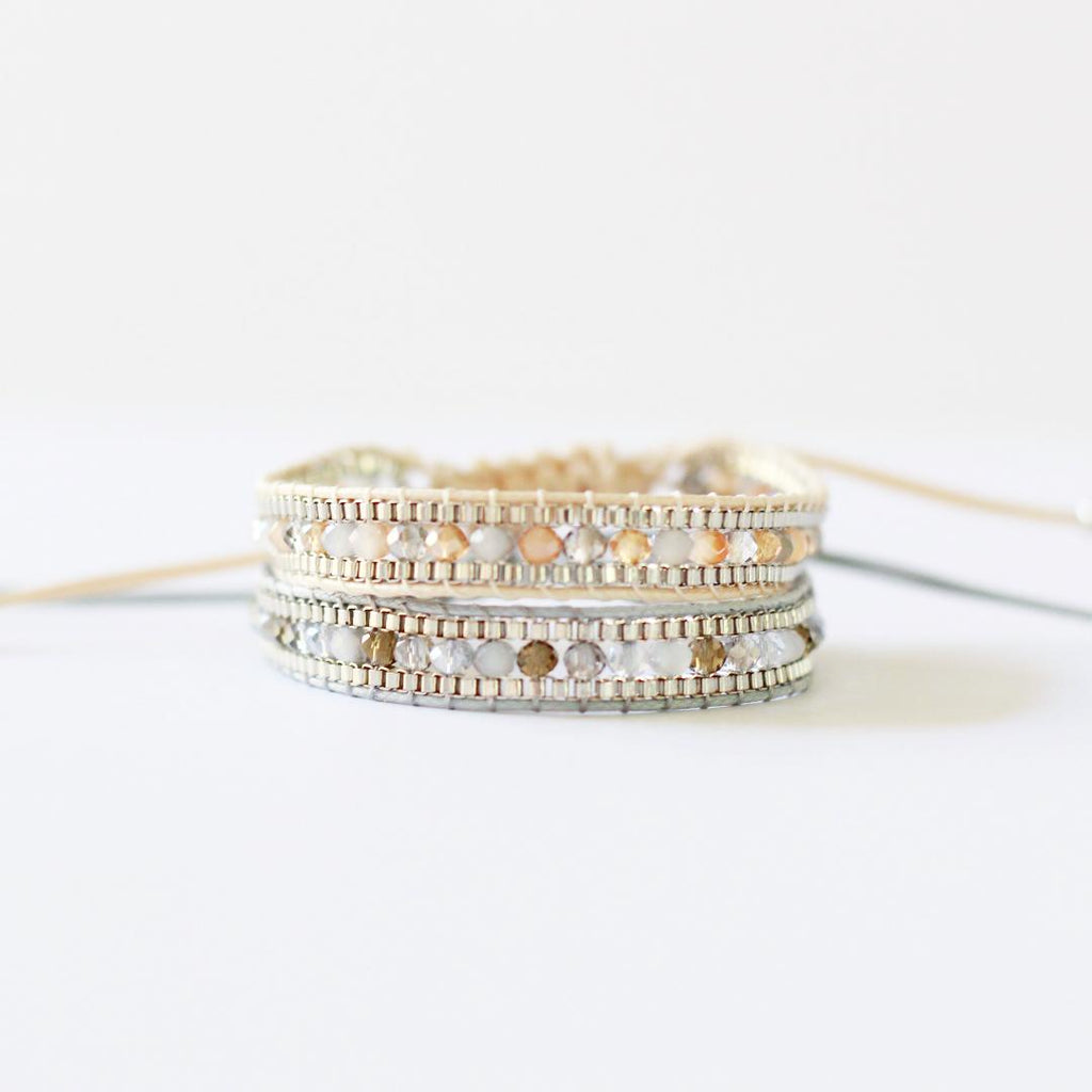 Adeline Beaded Stacker