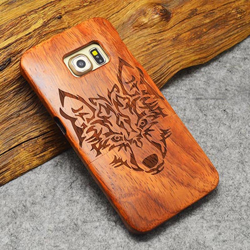 Wood Case For Samsung and iPhone