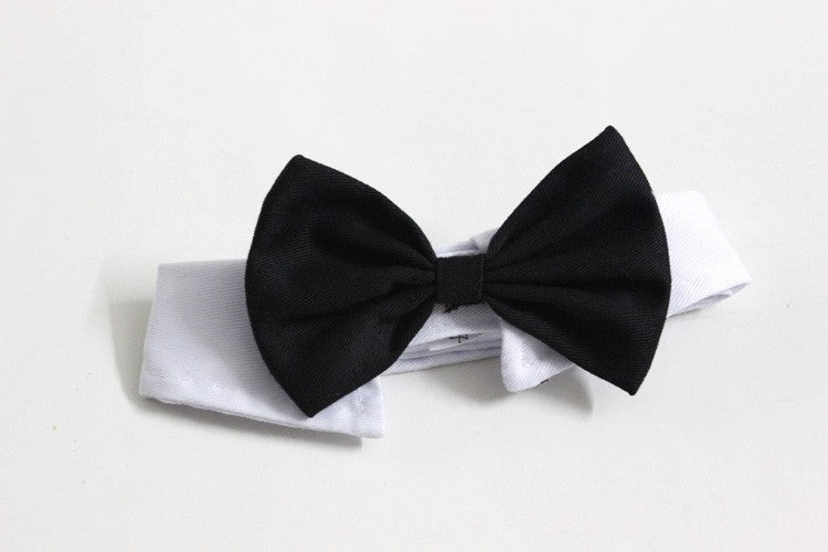 2016 New Arrival Handsome Formal Dog Cat Bow Tie Groom Tuxedo Costumes Pet Dogs Tie Wedding Accessories Grooming Black Bowtie