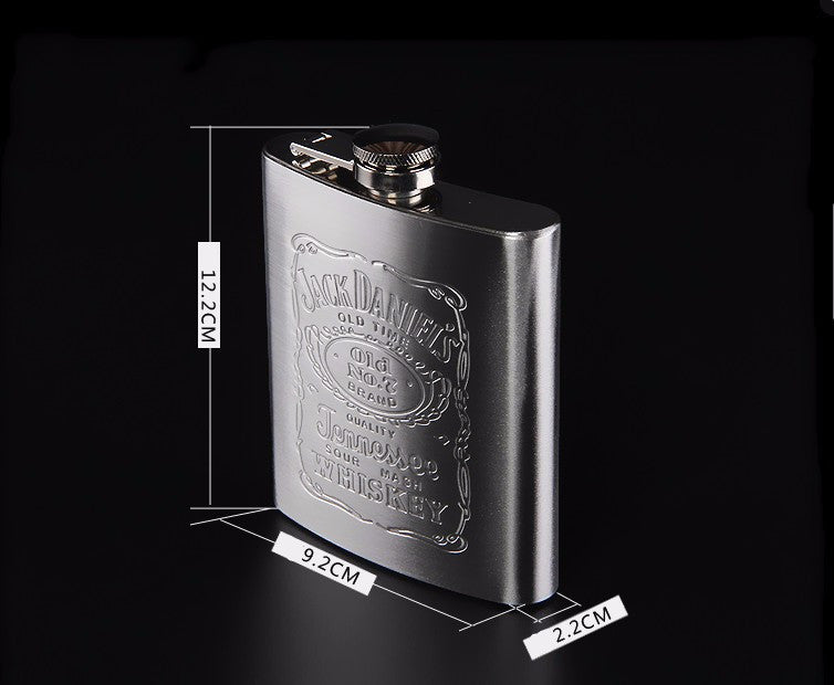 Stainless Steel Whiskey Hip Flask Set
