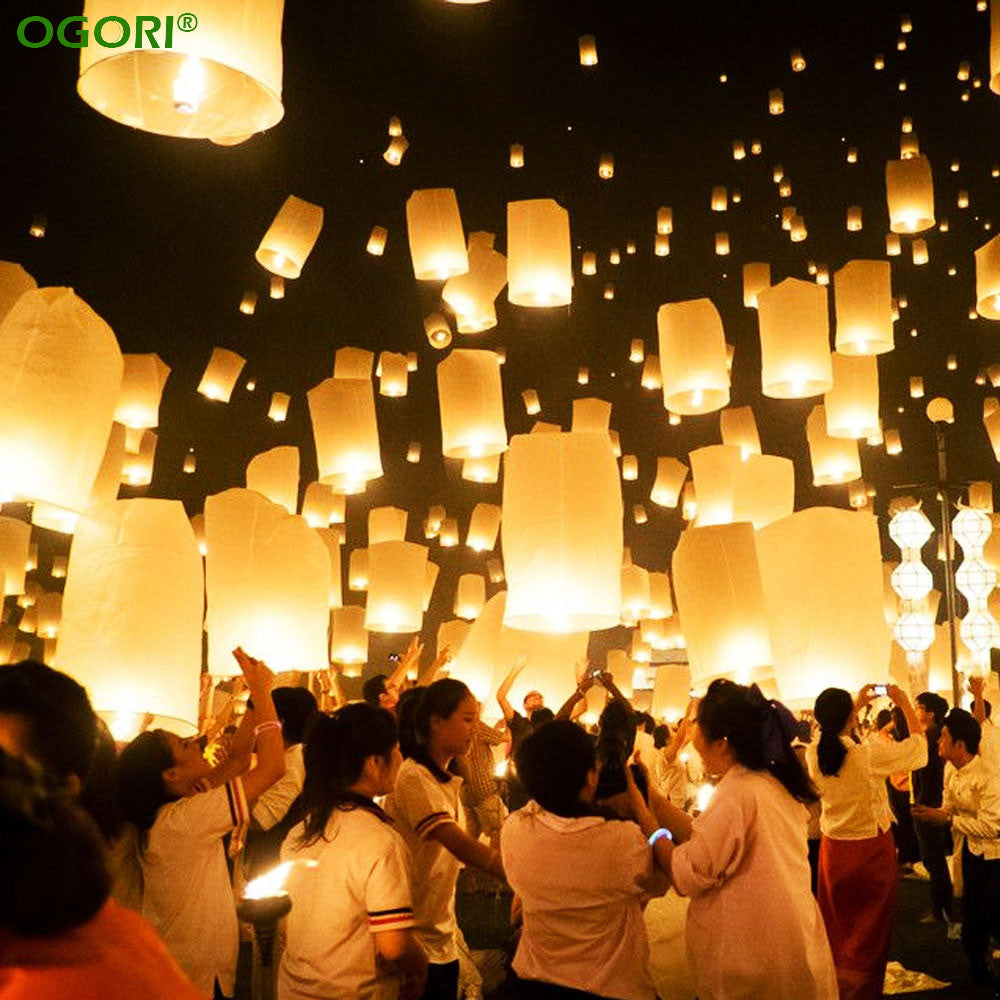10pcs Chinese Paper Lanterns