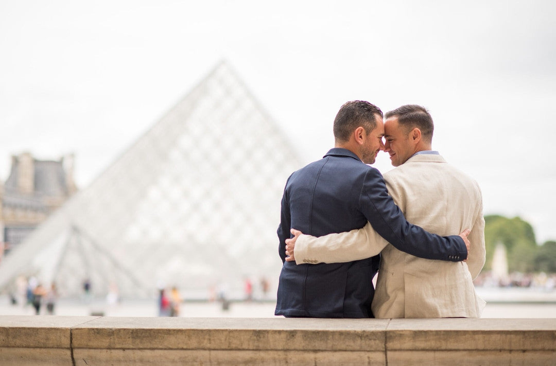 Gay Wedding Engagement Photos