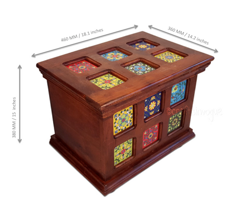 Hidden Mysteries - Assorted storage box - Scale
