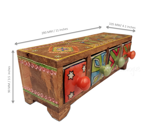 Vibrant Containers – Assorted jewellery box - Scale