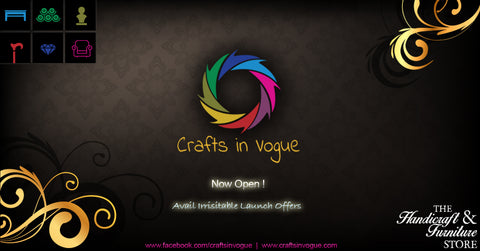 Crafts in Vogue - Now Open