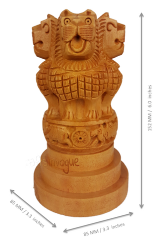 _Crafs in vogue_Preeminent Chisel_Carved Ashoka Pillar_Scale