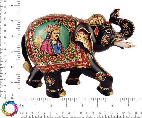 Entity of Romance - Carved Mumtaz-Shah Jahan - elephant Scale