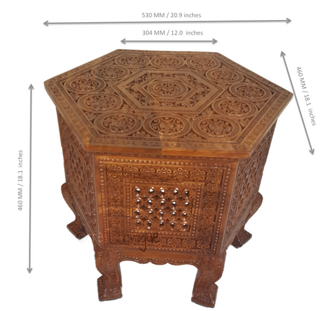 _crafts in vogue_Majestic Surface – Carved coffee table_scale