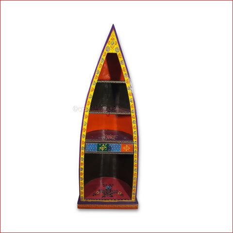 Crafts in Vogue - Refined Taste for Knowledge - Yellow Front - Boat Book Rack