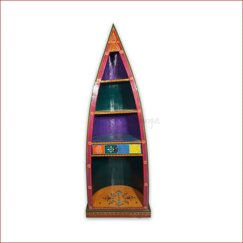 Crafts in Vogue - Refined Taste for Knowledge - Red Front - Boat Book Rack