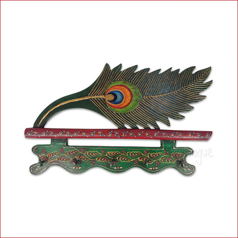 Crafts in Vogue - Peacock feather - Exquisite Key Hanger