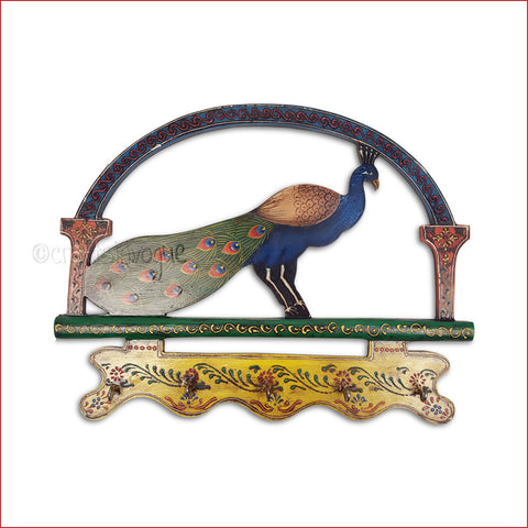 Crafts in Vogue - Relics of Grace - Peacock - Key Hanger