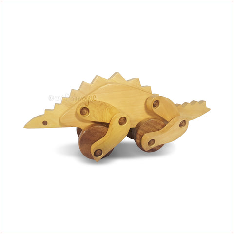 Crafts in Vogue - Fascinating Woody Dinosaur -Wooden Toy