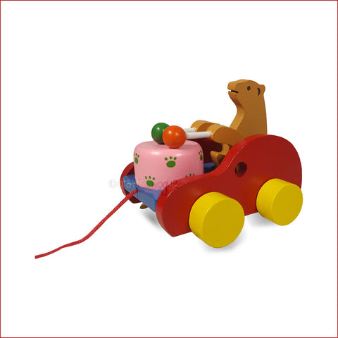 Crafts in Vogue - Carting Your Way - Bear Drummer