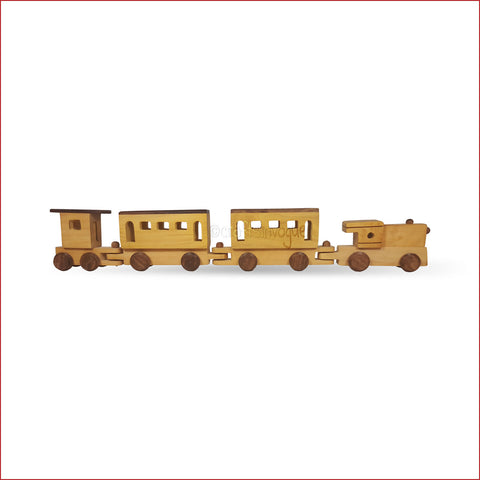 Crafts in Vogue - Chugging Through The Roads - Wooden Train