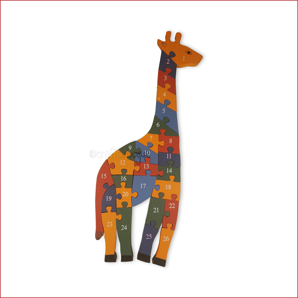 Crafts in Vogue - Giraffe - Game of Puzzle