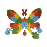 Crafts in Vogue - Butterfly - Game Of Puzzle - scale - pieces