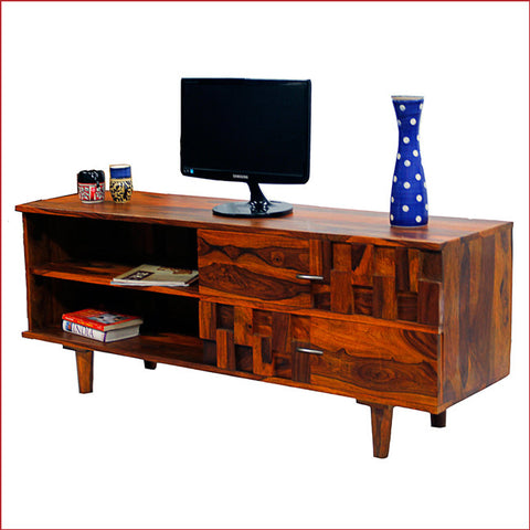Leading-age Fashion Statement – Anna Teak - TV Cabinet