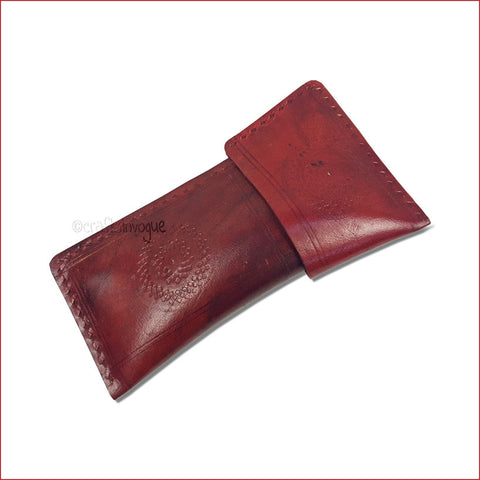 Crafts in Vogue - Archaic Artistry - Leather Spectacle / pencil sleeve