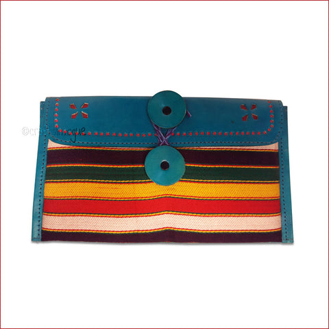 Crafts in Vogue - Chromatic Purse - Blue - Broad Strip