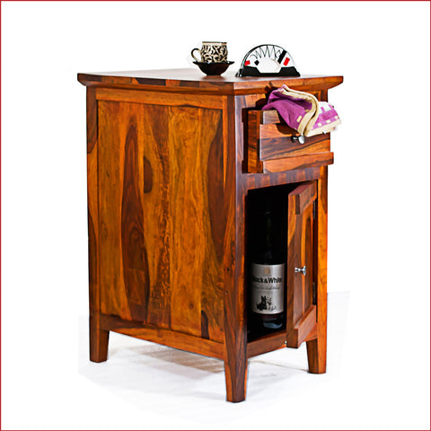 Crafts in Vogue - Brilliant Finesse - CANNY - Teak Side Table