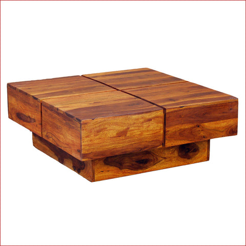Classy Counter  - Cento Teak - Coffee Table - 3D