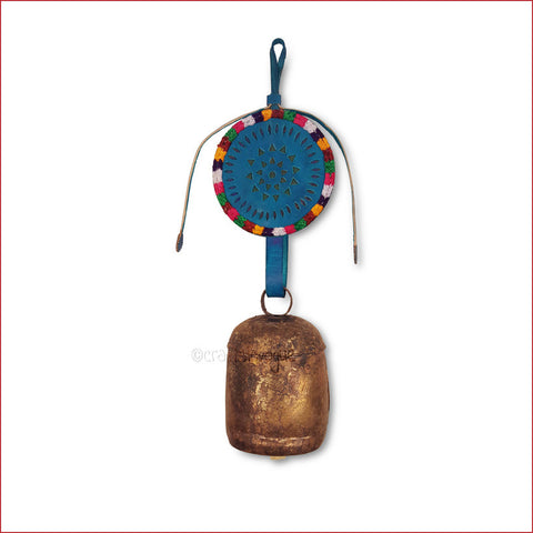 Crafts in Vogue - Serene Chime - Handmade Bell - L - Blue