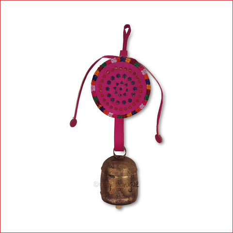 Crafts in Vogue - Serene Chime - Handmade Bell - M - Pink