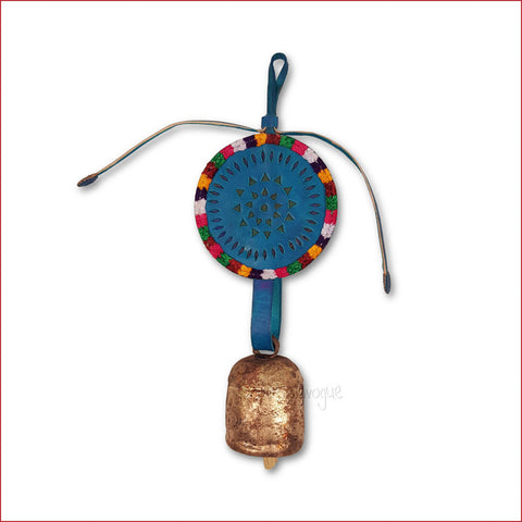Crafts in Vogue - Serene Chime - Handmade Bell - S - Blue
