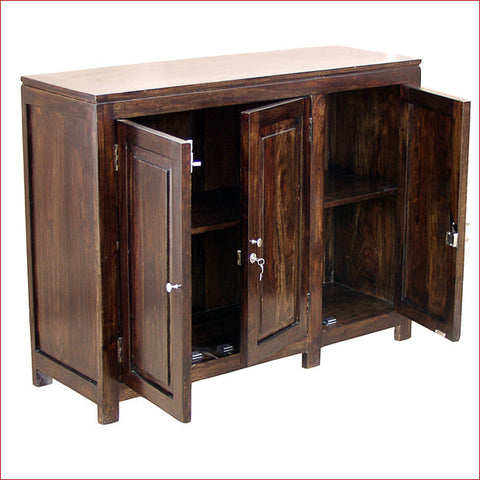 Worth Keeping a treasure - Danny Walnut - Cabinet - Open