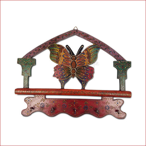 Crafts in Vogue - Emanating Colors - Butterfly- Key Hanger