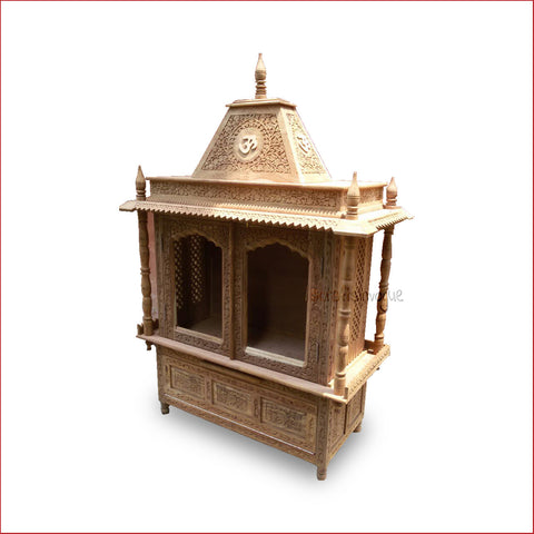 Crafts in Vogue - Divine Powers  - Carved Wooden Temple