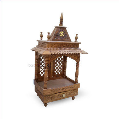 Crafts in Vogue - Hinduism Redefined   - Carved Wooden Temple