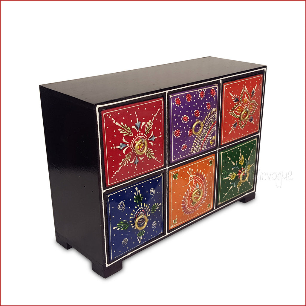 Boxes of Assortments – 6 Drawer Jewellery Box - 3D