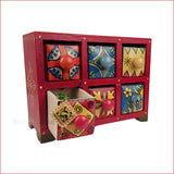 Surreal Variety – Assorted 6 drawer jewellery box- reference-2