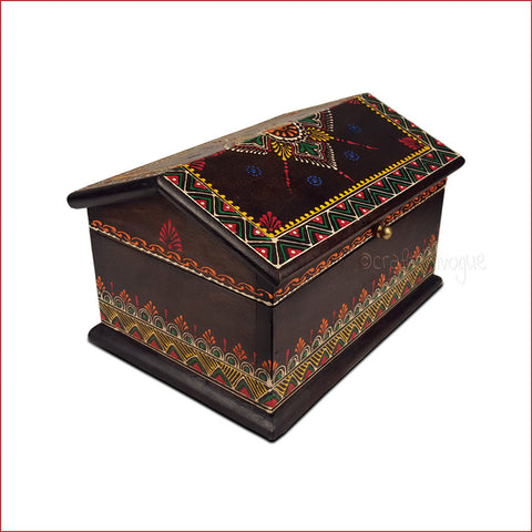 A Fetching Container – Embossed Jewellery Box - main