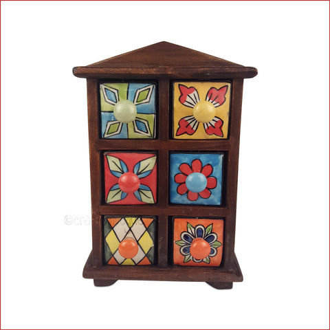 Miniature Masterpiece – Hut Style Jewellery tower - main