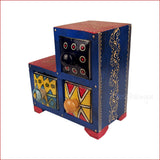 Contrasting Similarities blue – Step Jewellery box - 3D