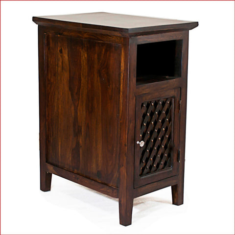 Artistry of Ingenuity - Walnut - Side Table - 3D