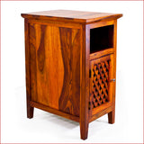 Artistry of Ingenuity - Teak - Side Table - 3D