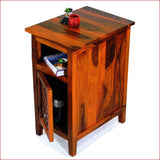 Artistry of Ingenuity - Teak - Side Table - 3D 2