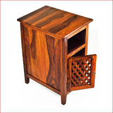 Artistry of Ingenuity - Teak - Side Table - 3D 3